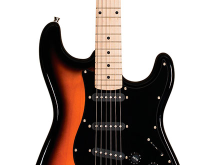 Guitarra Strato Michael Standard GM217 SK? Black Sunburst