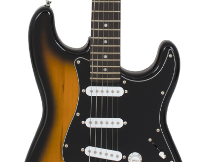 Guitarra Strato Michael Standard GM217N SK ? Sunburst Black