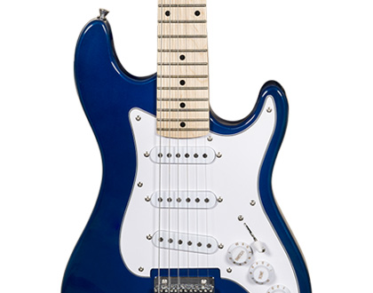 GUITARRA INFANTIL MICHAEL STANDARD JUNIOR GM219N MB ? METALLIC BLUE ? AZUL